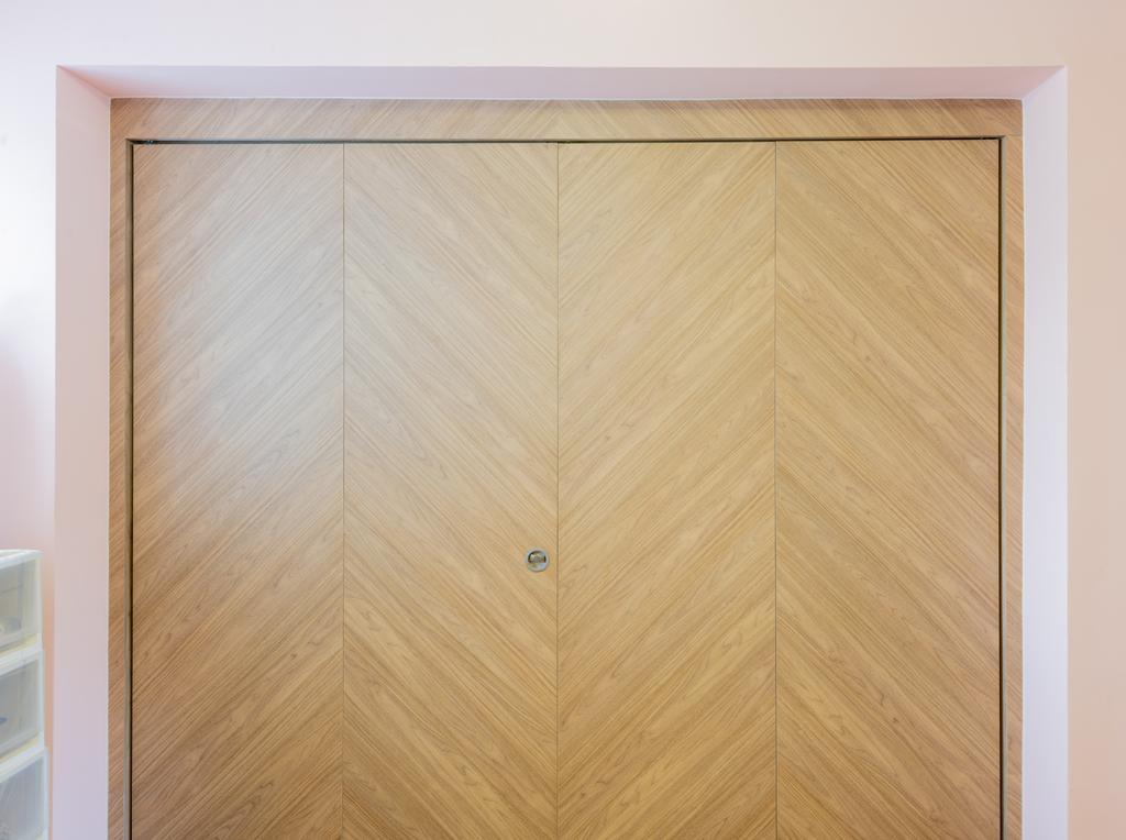 Retro, HDB, Bedroom, Marine Terrace (Block 54), Interior Designer, Design Identity, Scandinavian