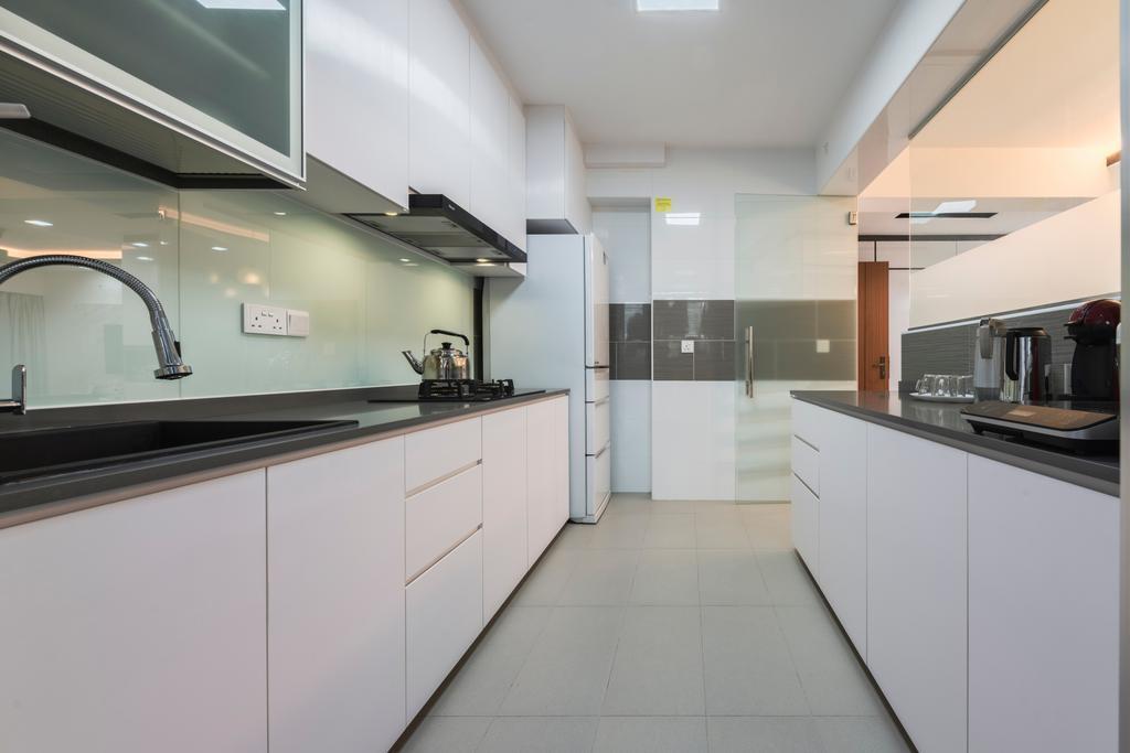 Scandinavian, HDB, Kitchen, Bukit Batok West Avenue 9, Interior Designer, Design Identity