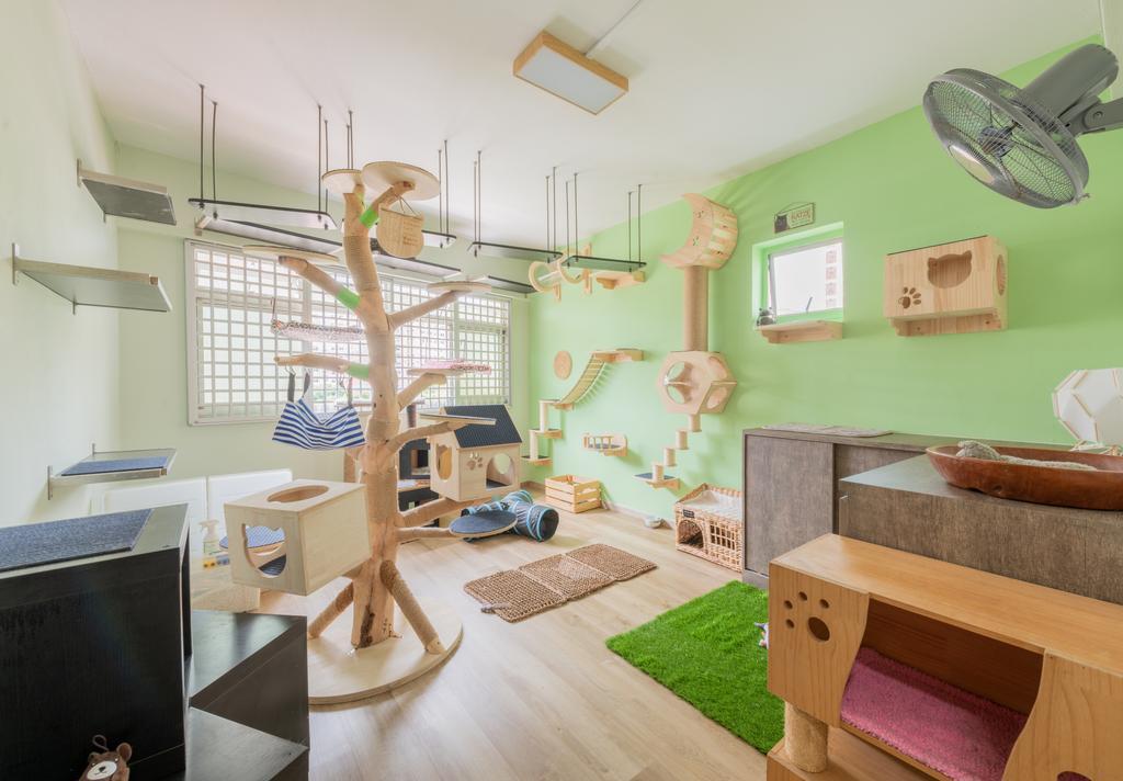 Retro, HDB, Bedroom, Choa Chu Kang Avenue 2, Interior Designer, Design Identity