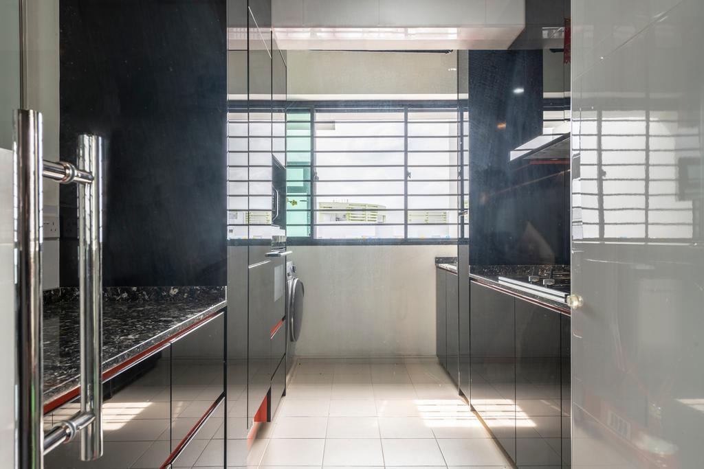 Modern, HDB, Kitchen, Edgedale Plains, Interior Designer, Design Identity