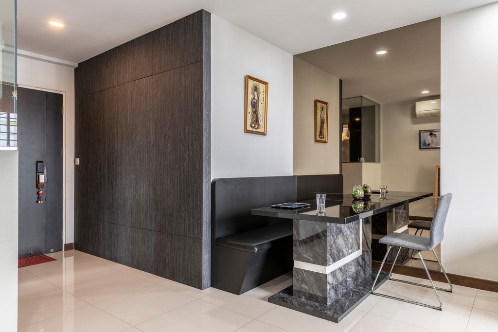 Modern, HDB, Dining Room, Edgedale Plains, Interior Designer, Design Identity