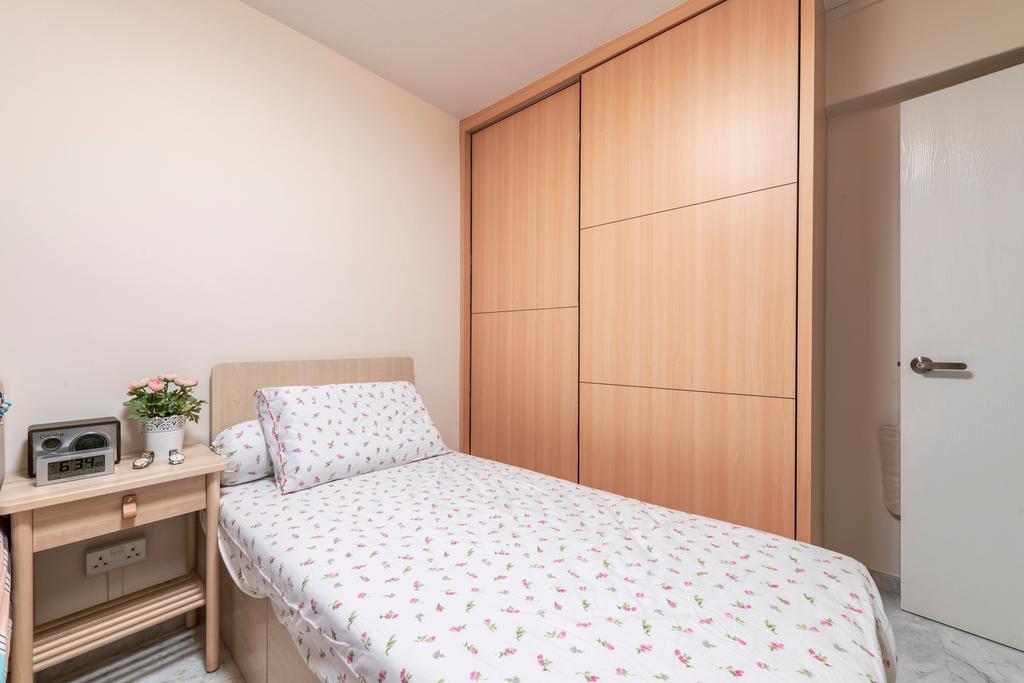 Scandinavian, HDB, Bedroom, Jurong West Street 41, Interior Designer, Design Identity