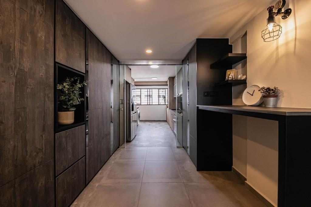 Contemporary, HDB, Living Room, Ang Mo Kio, Interior Designer, Space Atelier
