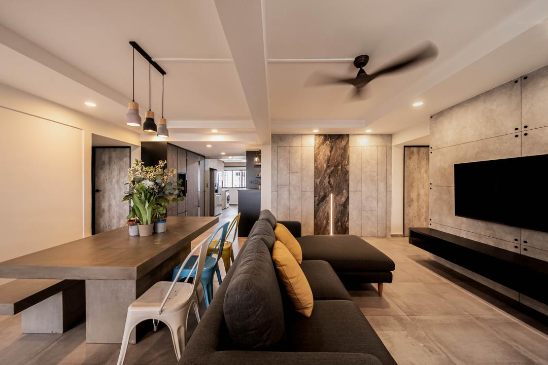 Ang Mo Kio Living Room Interior Design 1