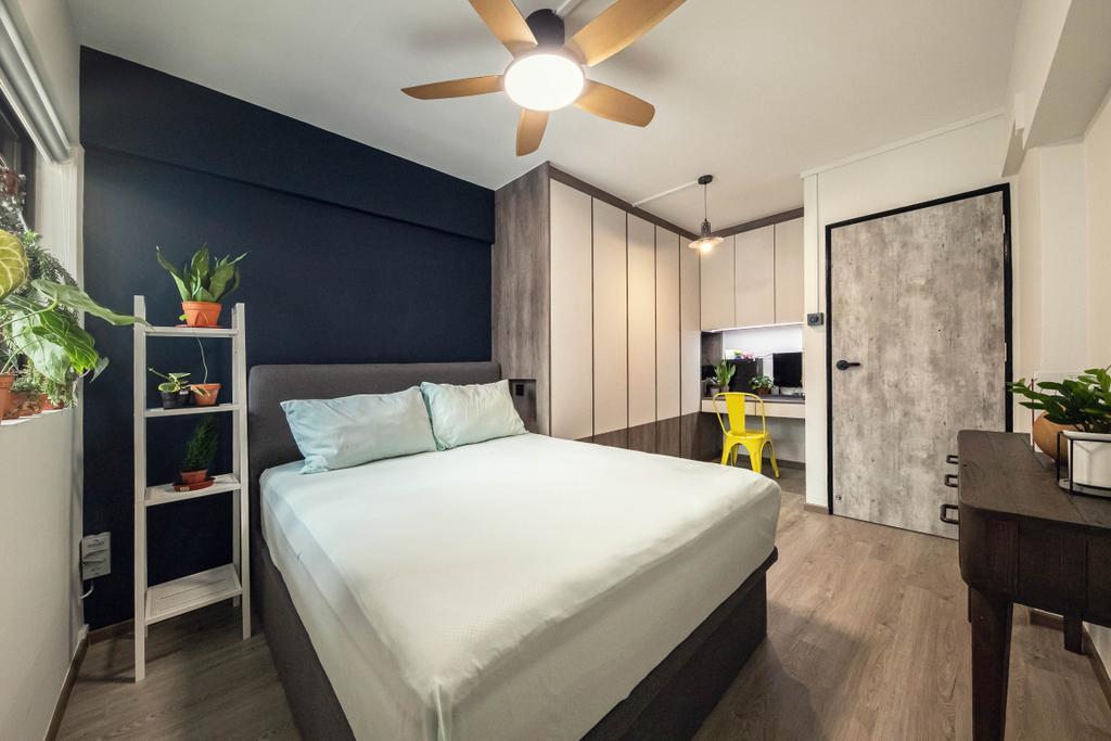 Contemporary, HDB, Bedroom, Ang Mo Kio, Interior Designer, Space Atelier