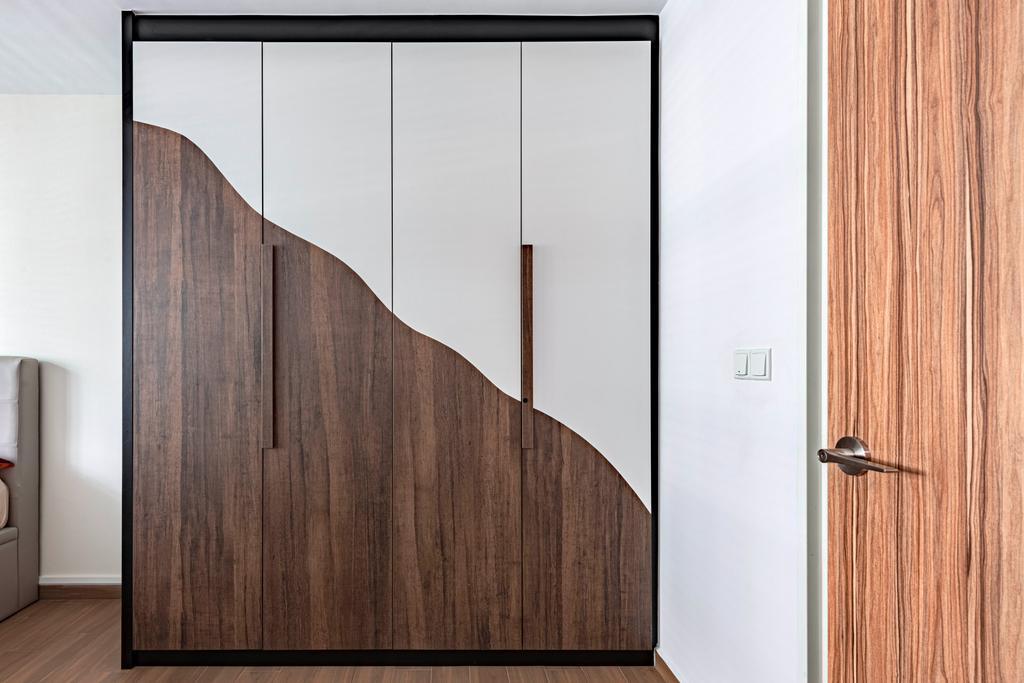 Contemporary, HDB, Bedroom, Yishun Street 51, Interior Designer, Design Identity