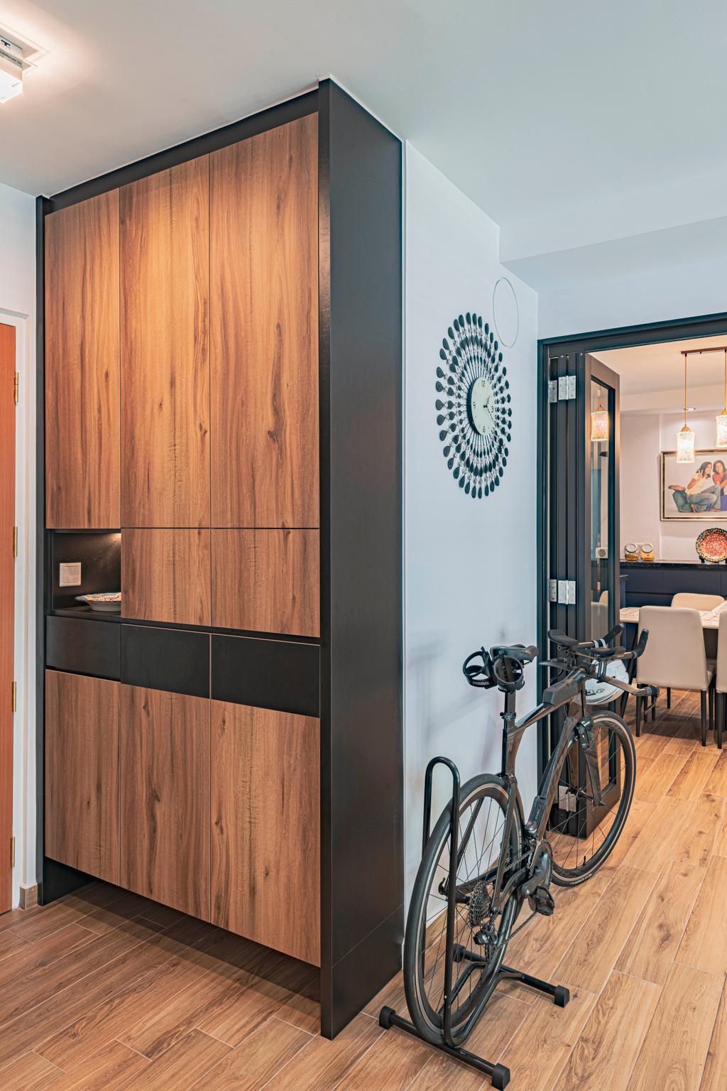 Contemporary, HDB, Living Room, Yishun Street 51, Interior Designer, Design Identity
