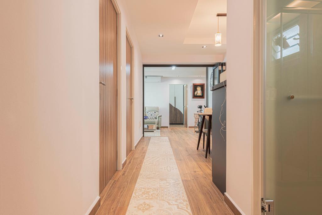 Contemporary, HDB, Yishun Street 51, Interior Designer, Design Identity
