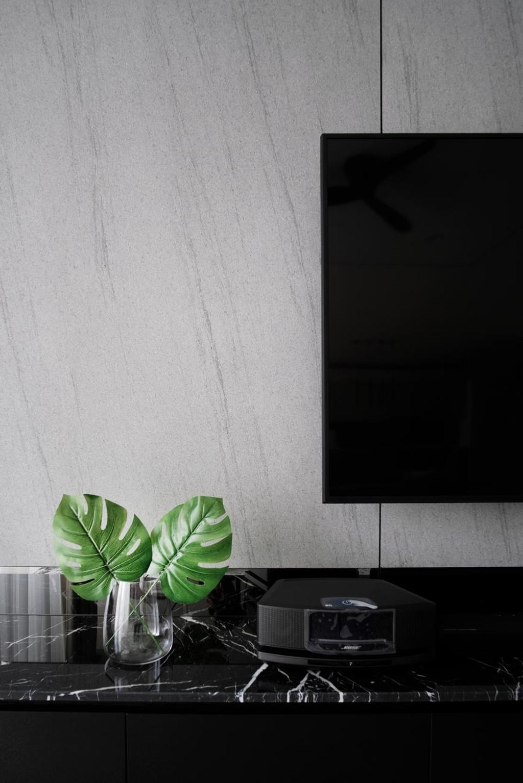 Minimalistic, Condo, Living Room, One Menerung, Bangsar, Interior Designer, Monogram Design Studio, Modern