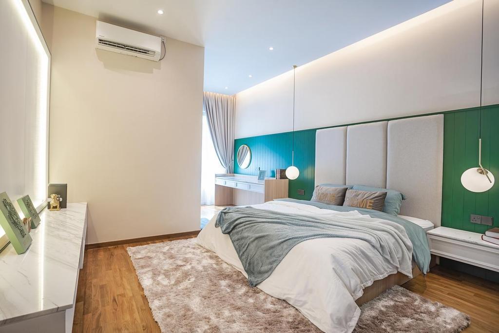 Modern, Landed, Bedroom, Daintree Residence, JB, Interior Designer, Monogram Design Studio