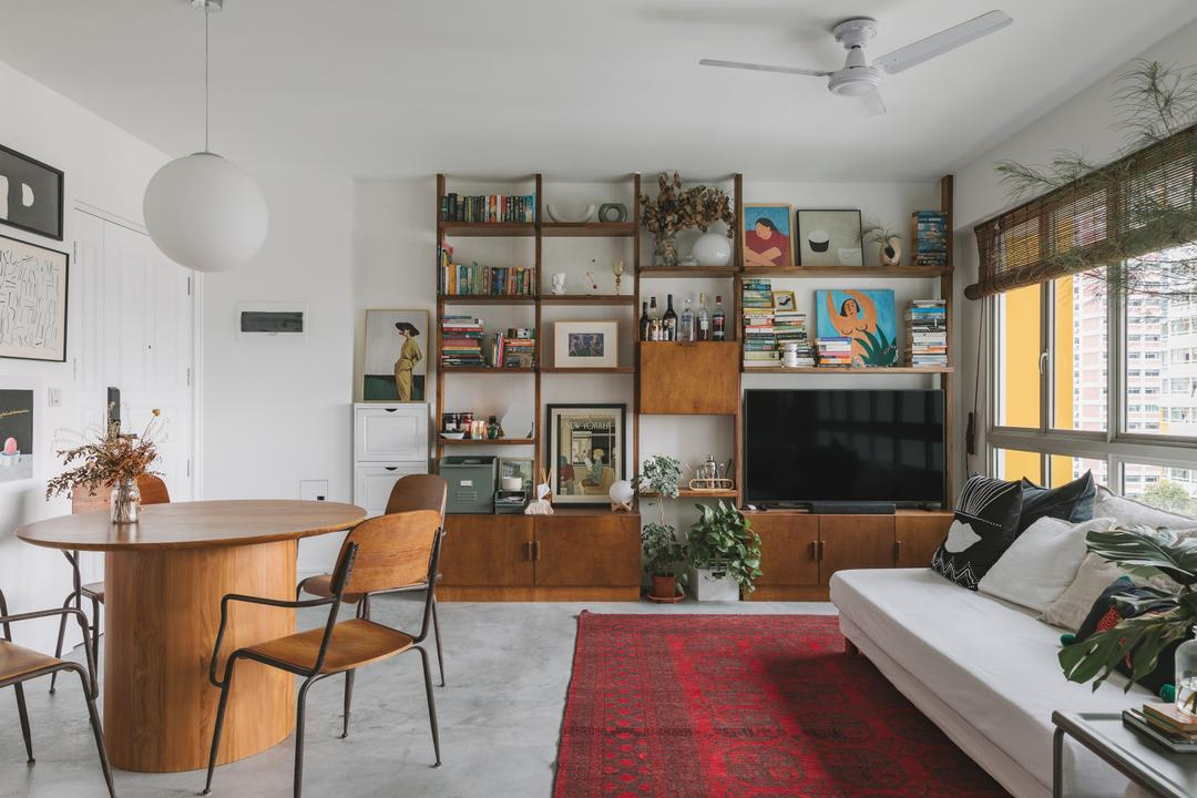 An Eclectic Tiong Bahru 4-Room Flat That's Purposely Messy 3