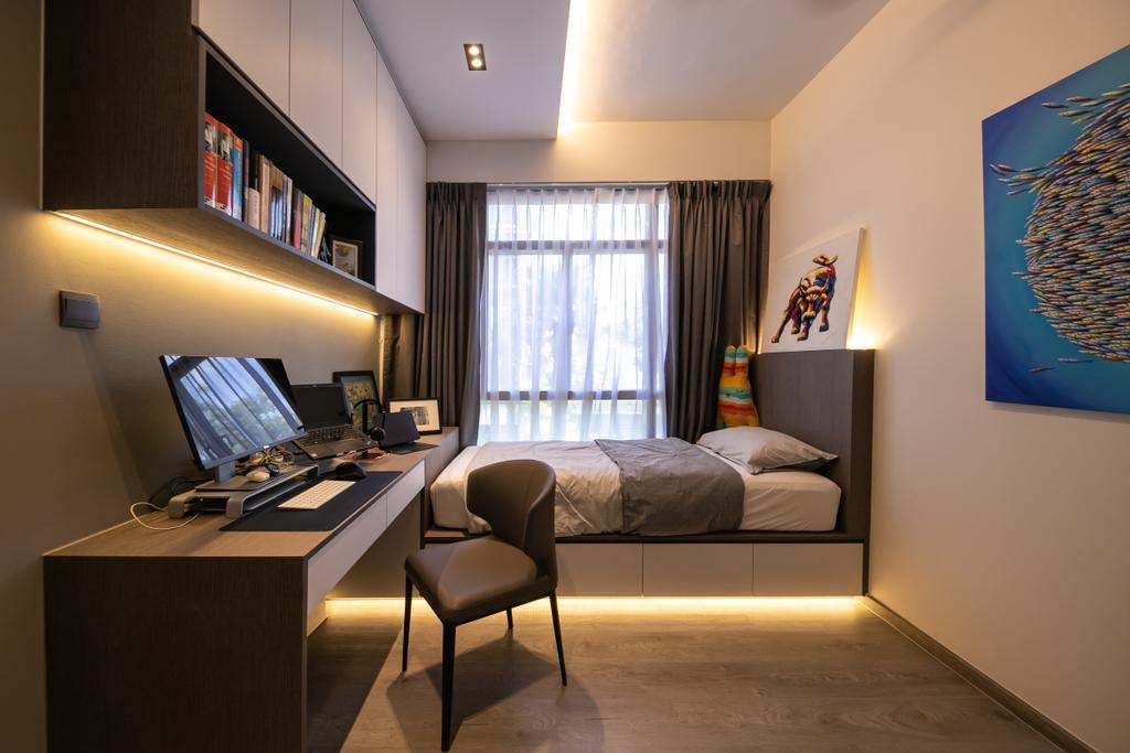 Modern, Condo, Study, The Seawind, Interior Designer, Space Atelier, Contemporary