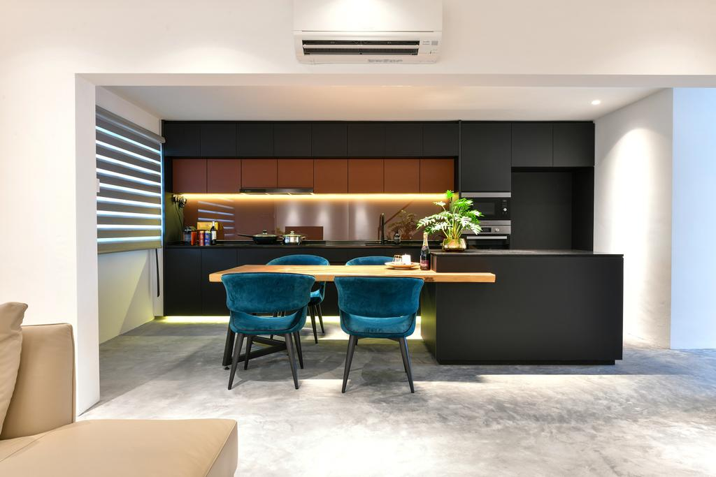 Contemporary, HDB, Dining Room, Cashew Road, Interior Designer, Divine & Glitz