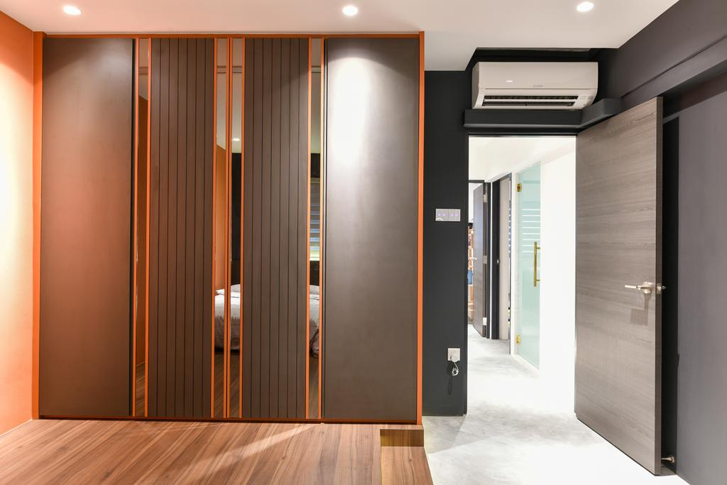 Contemporary, HDB, Bedroom, Cashew Road, Interior Designer, Divine & Glitz