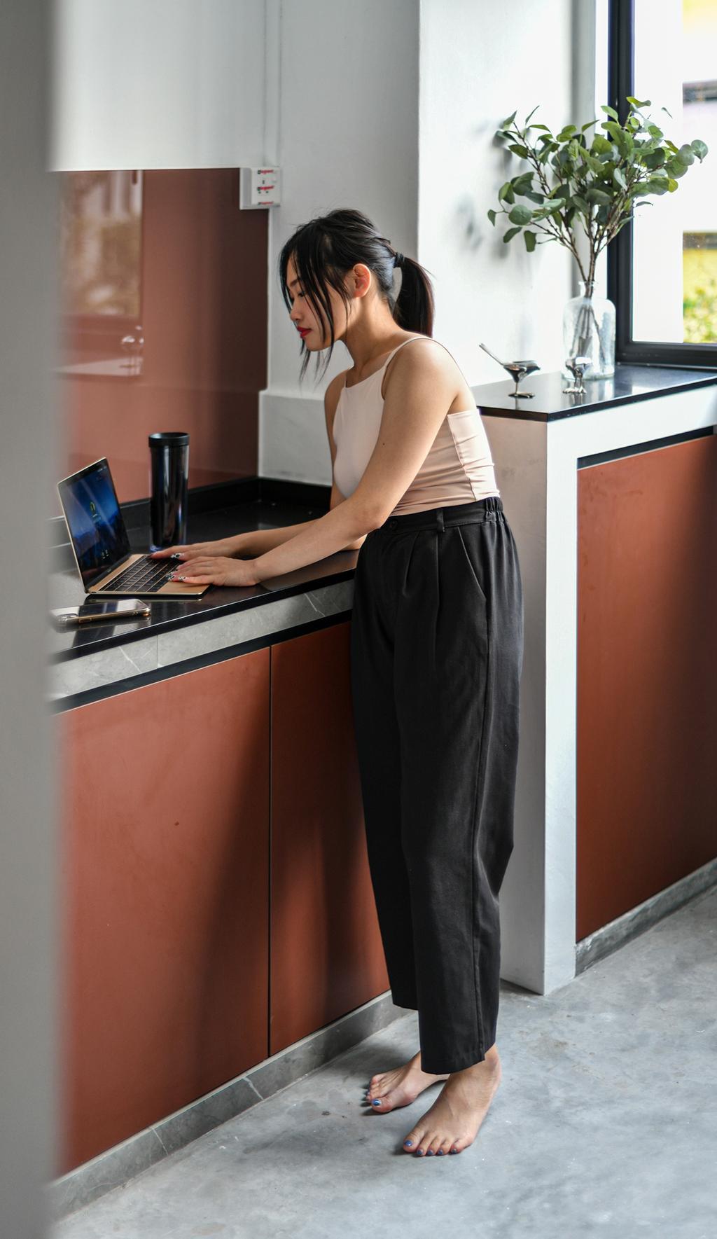 Contemporary, HDB, Kitchen, Cashew Road, Interior Designer, Divine & Glitz