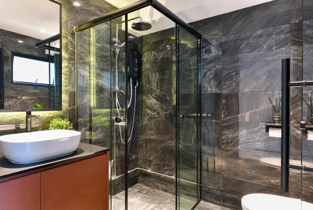 Contemporary, HDB, Bathroom, Cashew Road, Interior Designer, Divine & Glitz