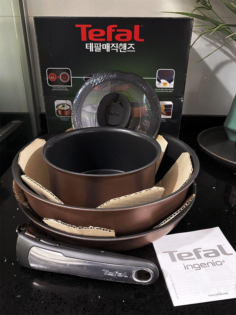 Tefal Ingenio Rose Gold Review