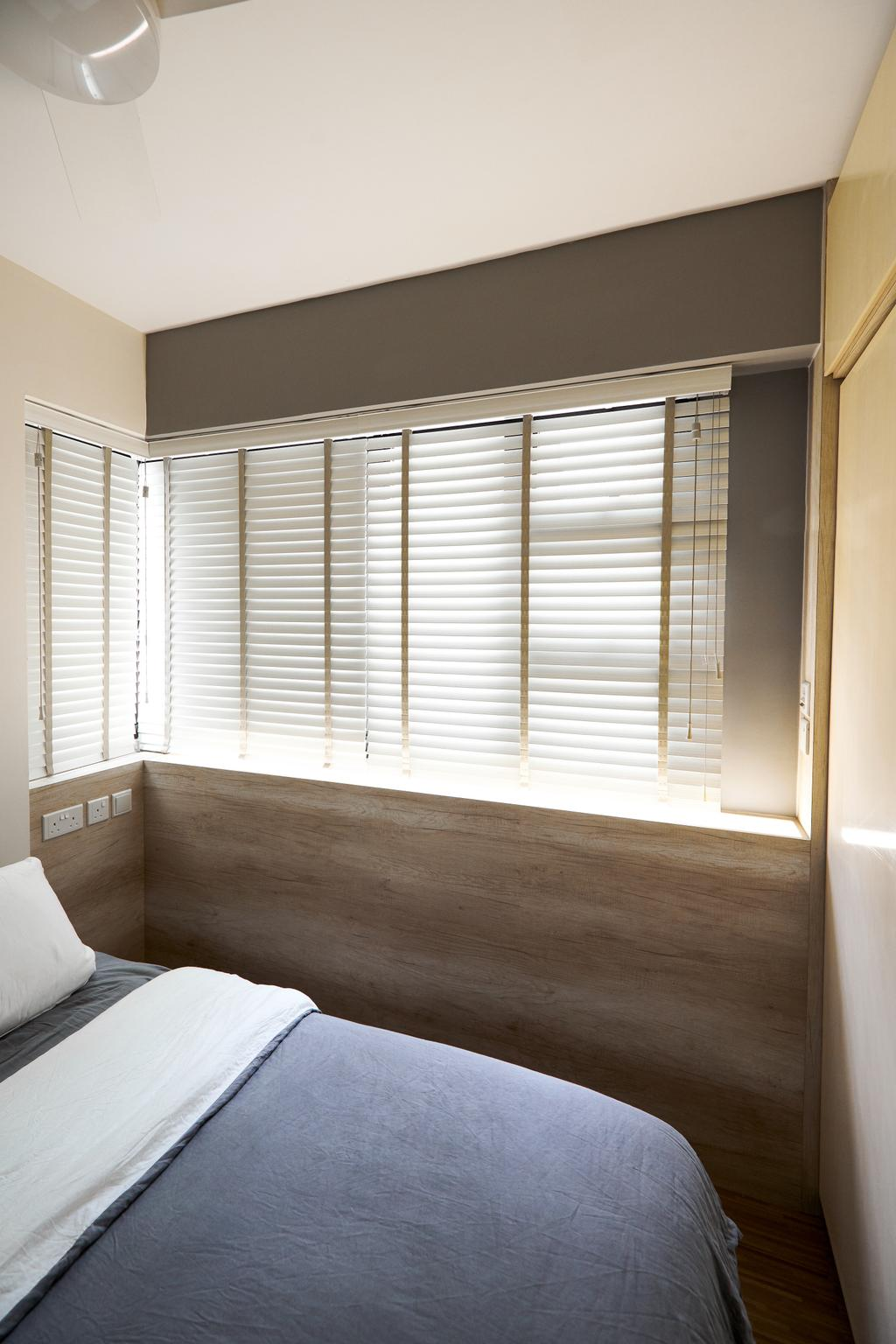 Scandinavian, HDB, Bedroom, Ghim Moh Link, Interior Designer, Le Interior Affairs, Contemporary