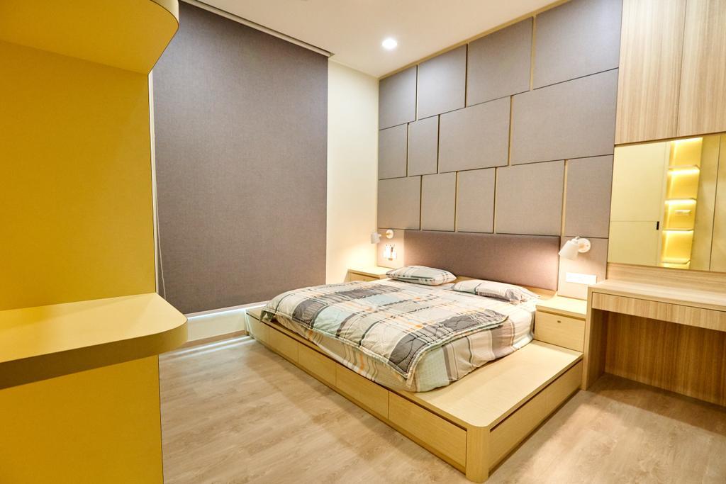 Modern, Condo, Bedroom, Guilin View, Interior Designer, Le Interior Affairs