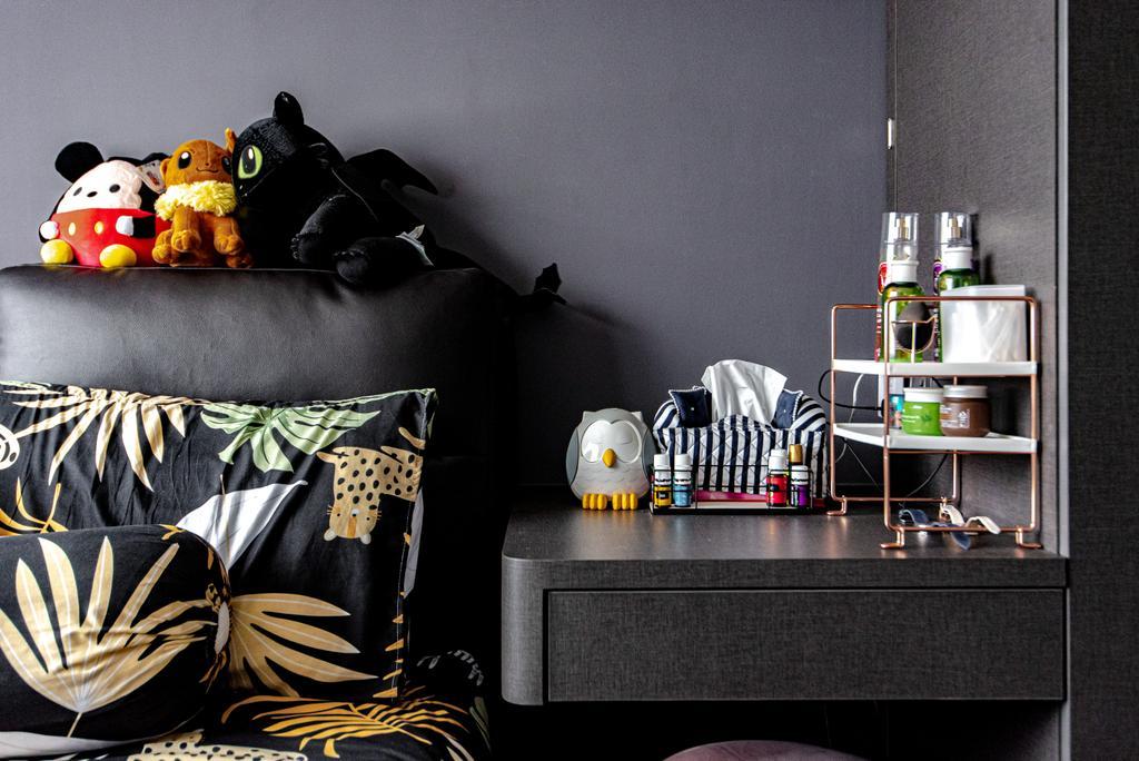 Contemporary, HDB, Bedroom, Sumang Lane (Block 233C), Interior Designer, Le Interior Affairs