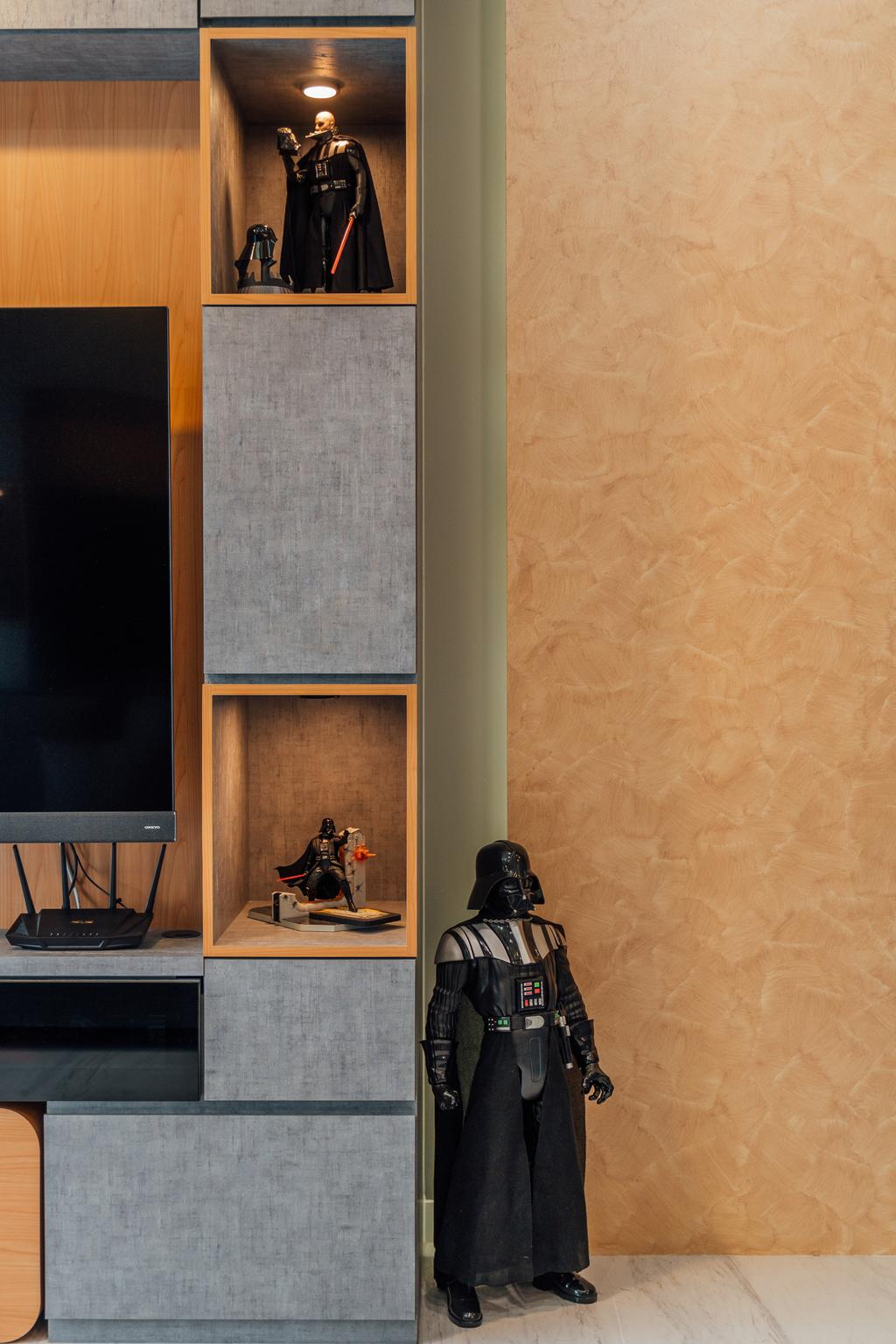 Scandinavian, HDB, Living Room, Tampines (Block 115), Interior Designer, Le Interior Affairs, Modern