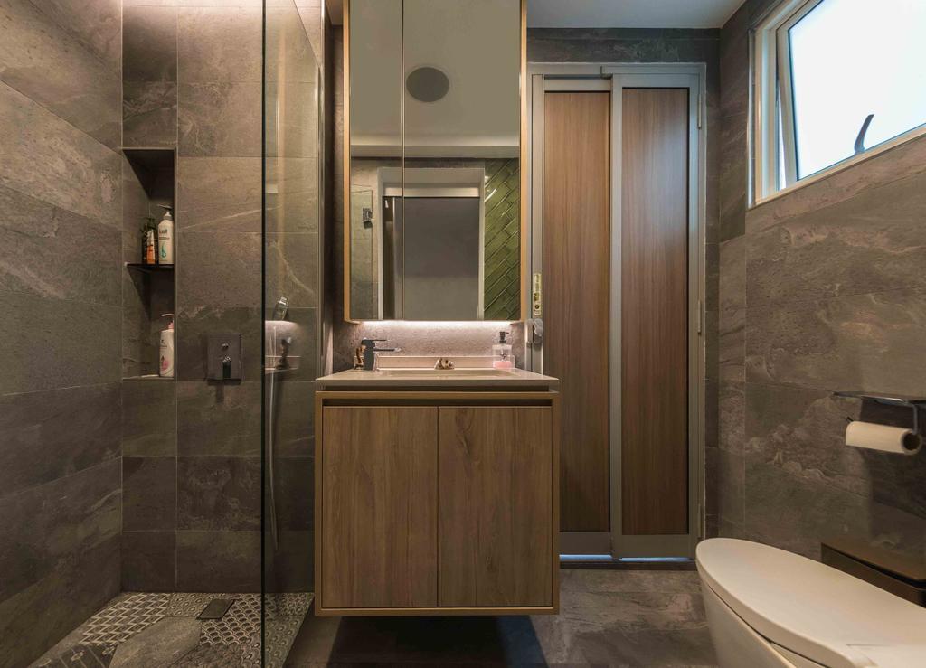Contemporary, Condo, Bathroom, Sandy Palm, Interior Designer, Ciseern