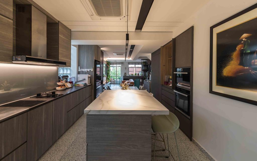 Contemporary, Condo, Kitchen, Sandy Palm, Interior Designer, Ciseern