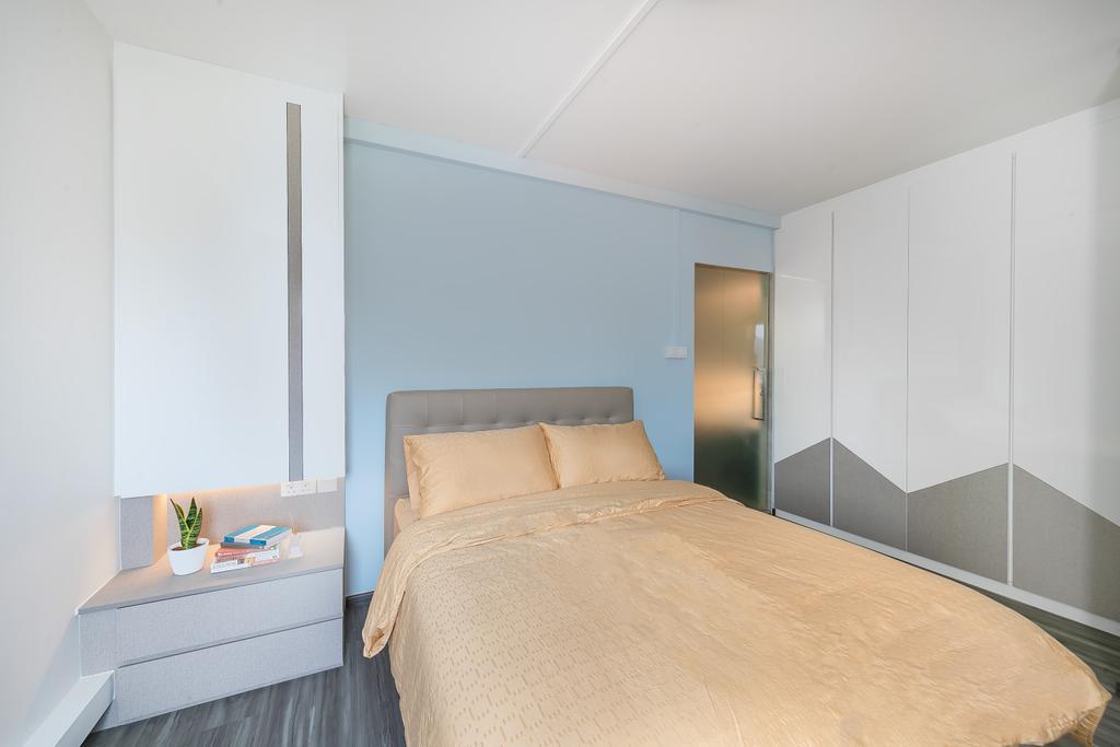 Contemporary, HDB, Bedroom, Compassvale Road, Interior Designer, Ciseern, Scandinavian