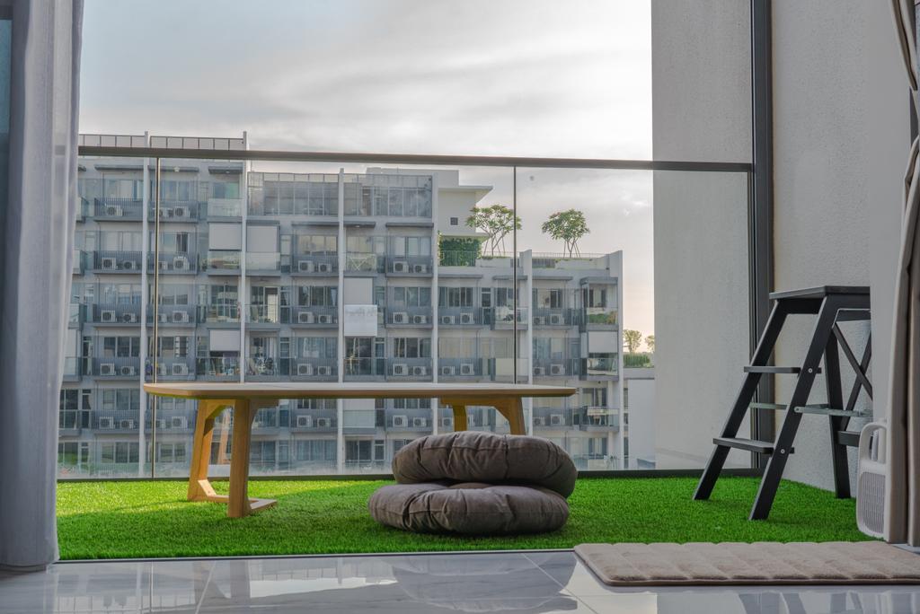 Scandinavian, HDB, Balcony, Tampines (Block 115), Interior Designer, Le Interior Affairs, Modern
