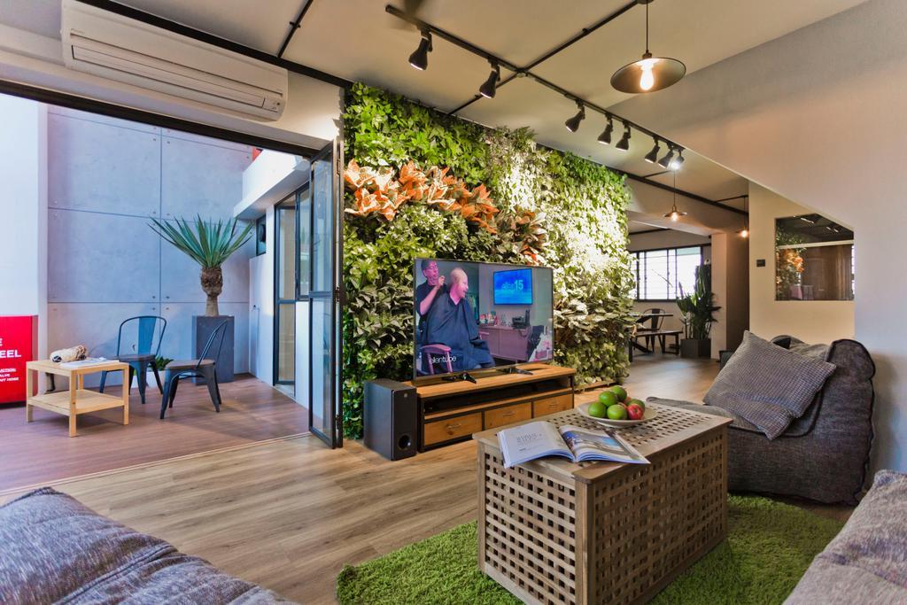 HDB, Living Room, Tampines Avenue 5, Interior Designer, Design Cube