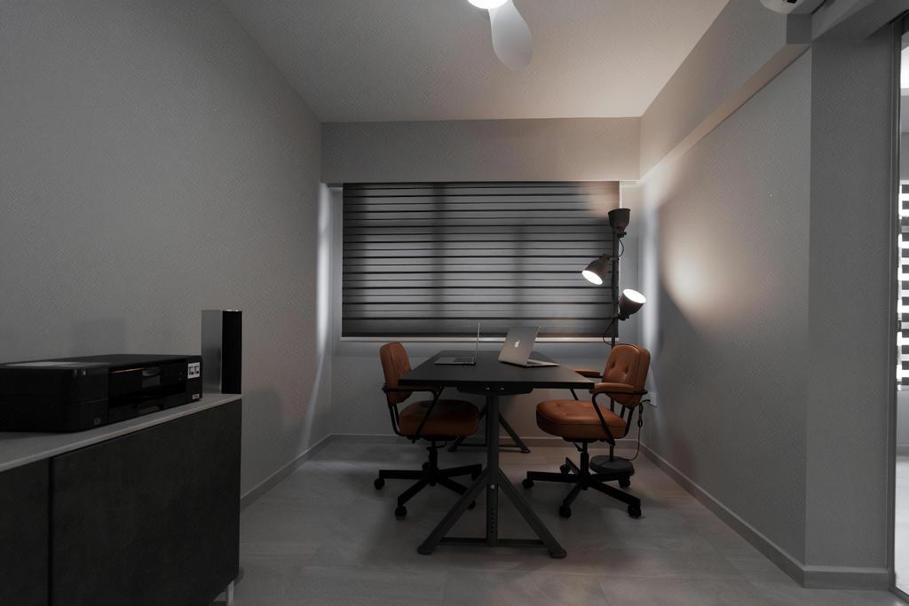 HDB, Study, Tampines North, Interior Designer, Design Cube