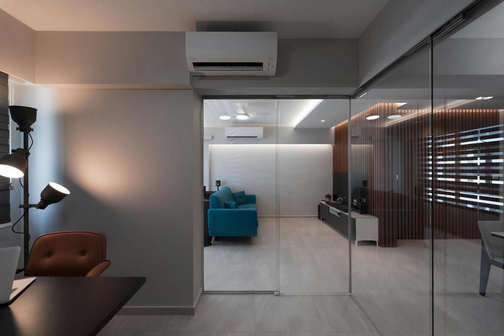 HDB, Dining Room, Tampines North, Interior Designer, Design Cube