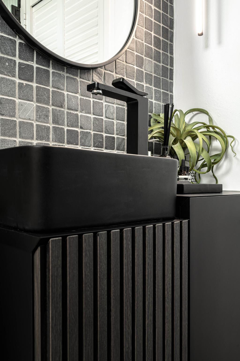 Contemporary, HDB, Bathroom, Tampines Greenweave, Interior Designer, 19 Eighty Three