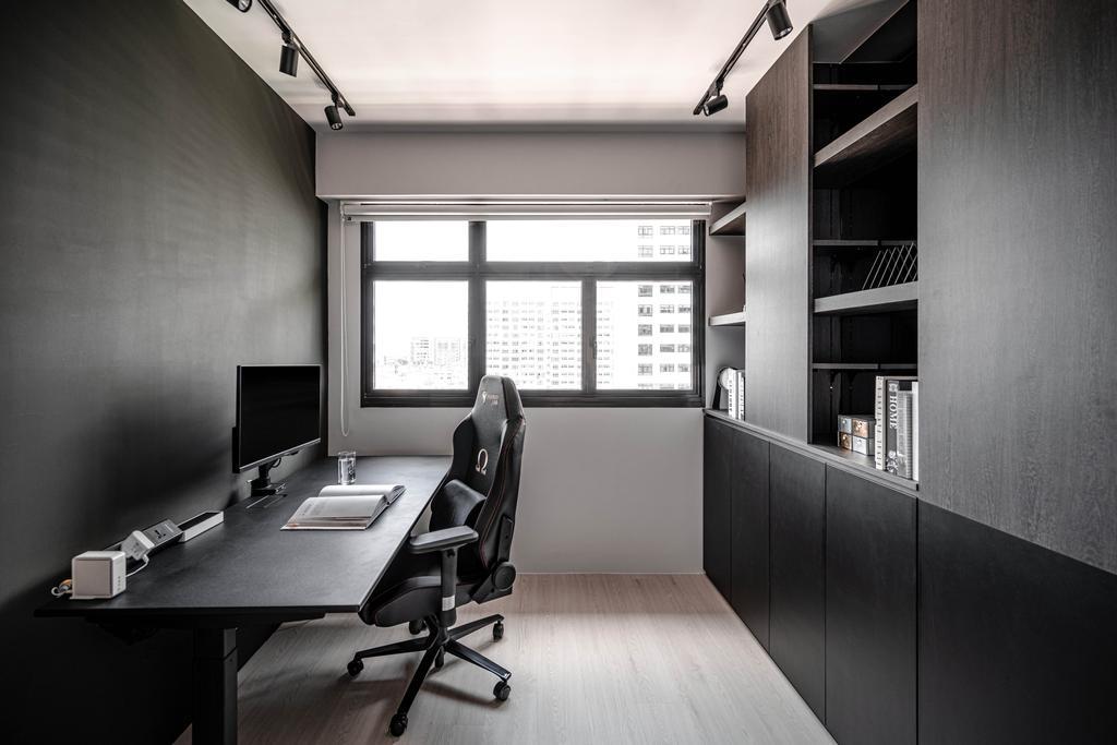 Contemporary, HDB, Study, Tampines Greenweave, Interior Designer, 19 Eighty Three