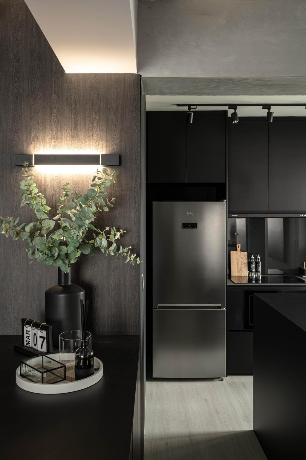 Contemporary, HDB, Kitchen, Tampines Greenweave, Interior Designer, 19 Eighty Three