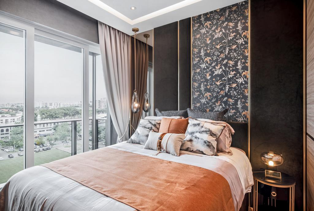 Modern, Condo, Bedroom, Stars of Kovan, Interior Designer, Mr Shopper Studio