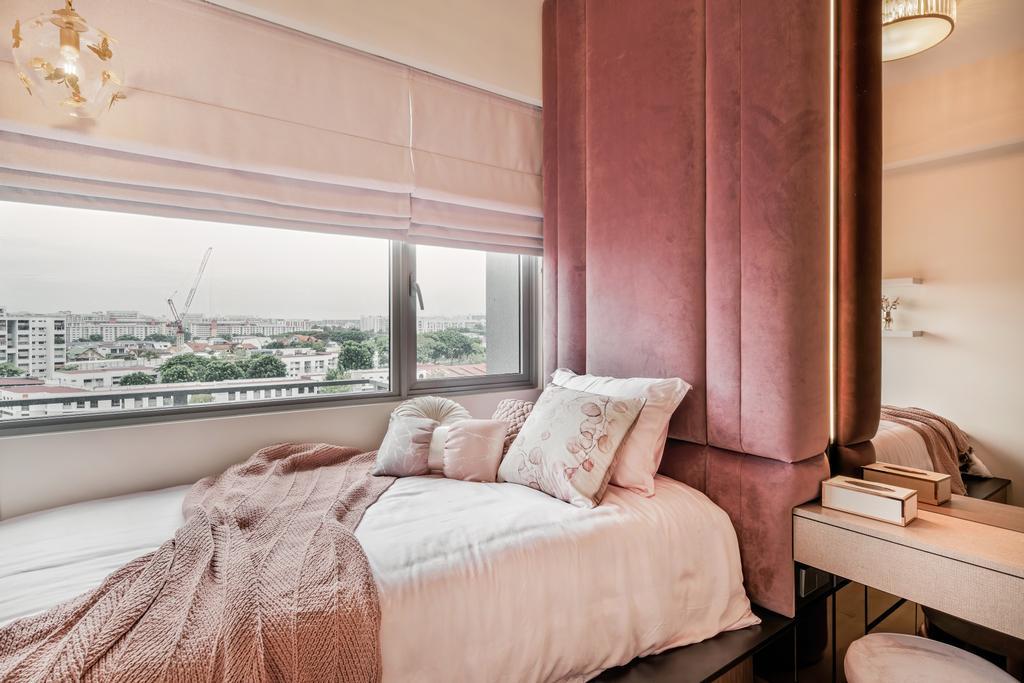 Modern, Condo, Bedroom, Stars of Kovan, Interior Designer, Mr Shopper Studio