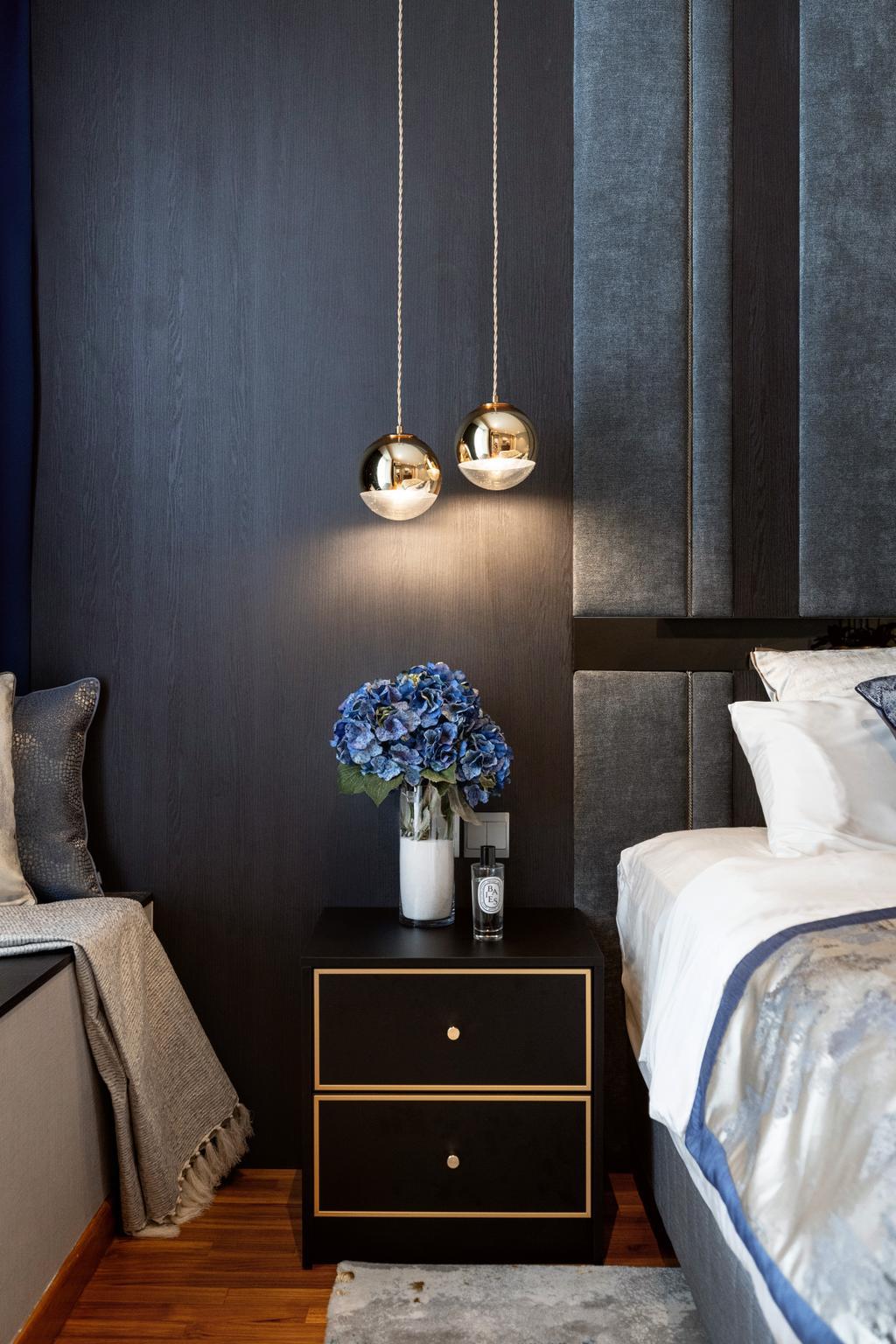 Modern, Condo, Bedroom, Kovan Melody, Interior Designer, Mr Shopper Studio, Contemporary
