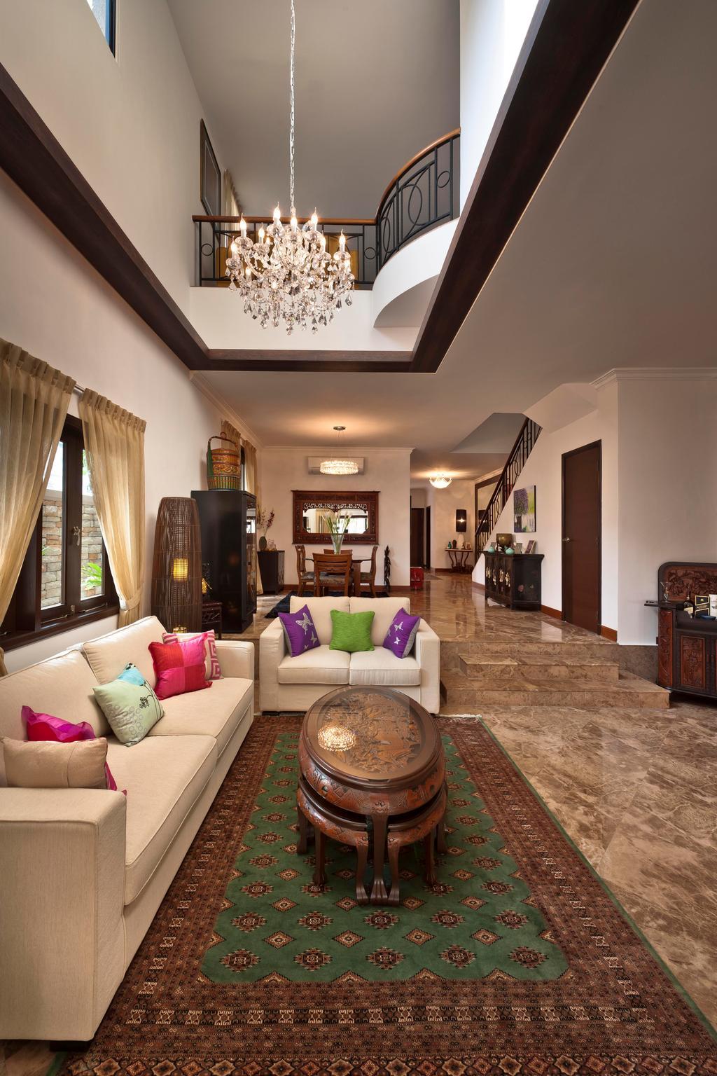Classic Living Rooms Interior Design: Interior Design Singapore