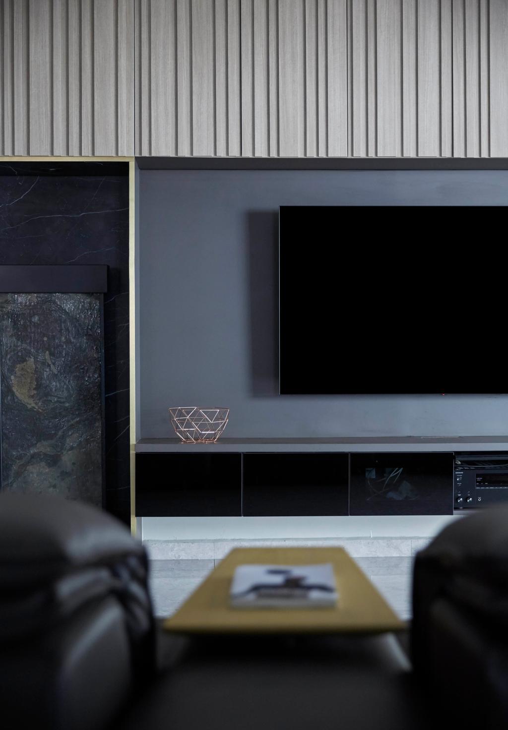 Modern, HDB, Living Room, Kim Tian Place, Interior Designer, The Interior Lab, Contemporary