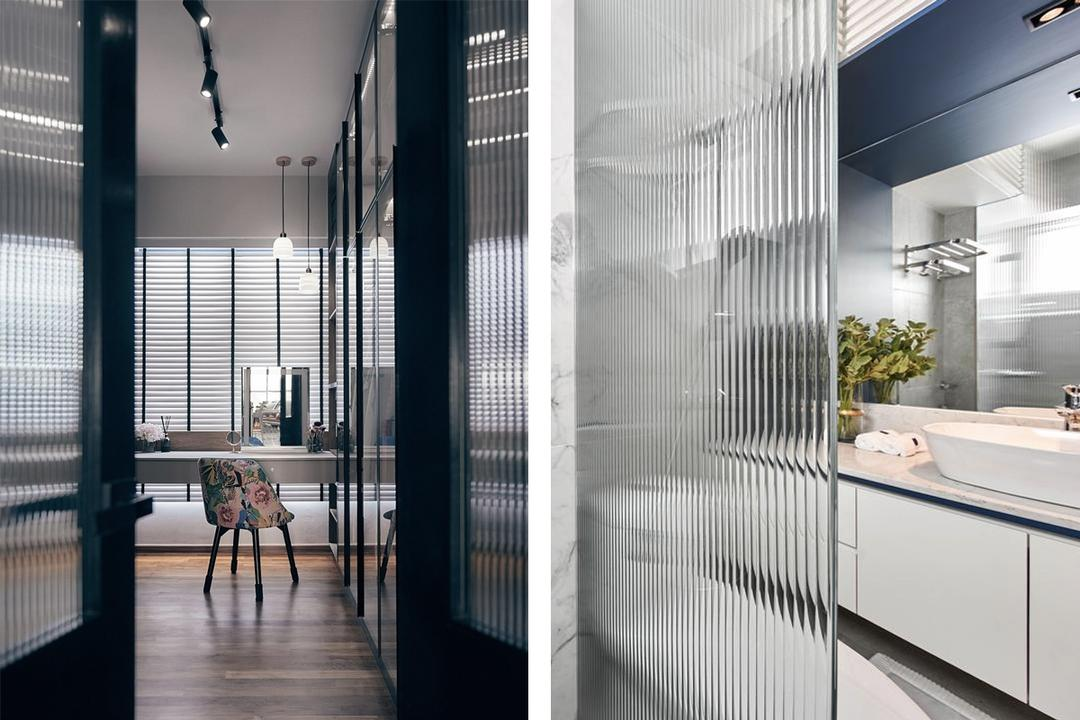 These 8 Fluted Glass Ideas Will Make Your Home Extra-Stylish 16