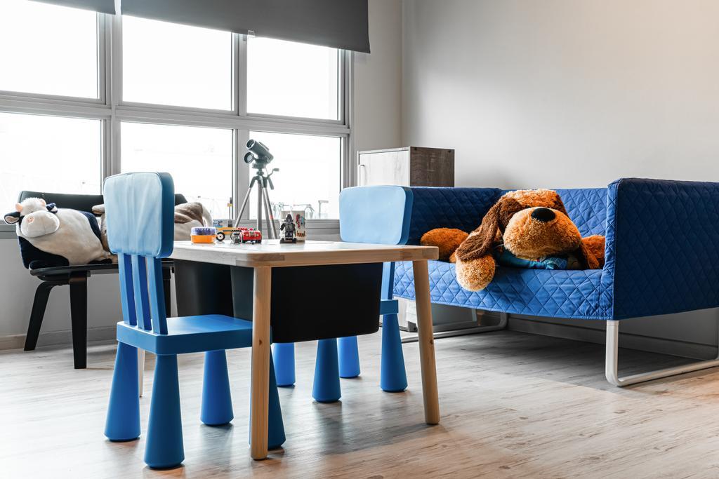 Contemporary, HDB, Living Room, Woodlands Crescent, Interior Designer, Azcendant
