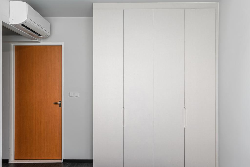 Contemporary, HDB, Bedroom, Woodlands Crescent, Interior Designer, Azcendant