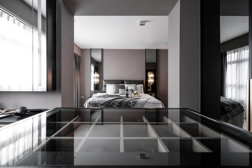 Modern, HDB, Bedroom, Tampines GreenWeave, Interior Designer, Mr Shopper Studio, Minimalistic