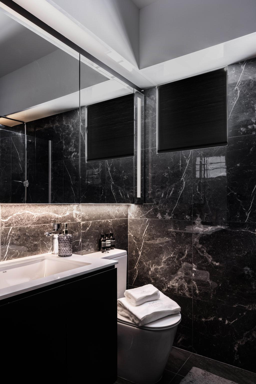 Modern, HDB, Bathroom, Tampines GreenWeave, Interior Designer, Mr Shopper Studio, Minimalistic