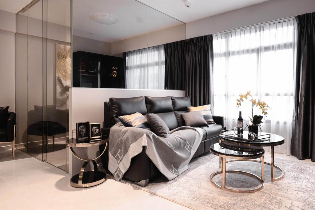 Modern, HDB, Tampines GreenWeave, Interior Designer, Mr Shopper Studio, Minimalistic
