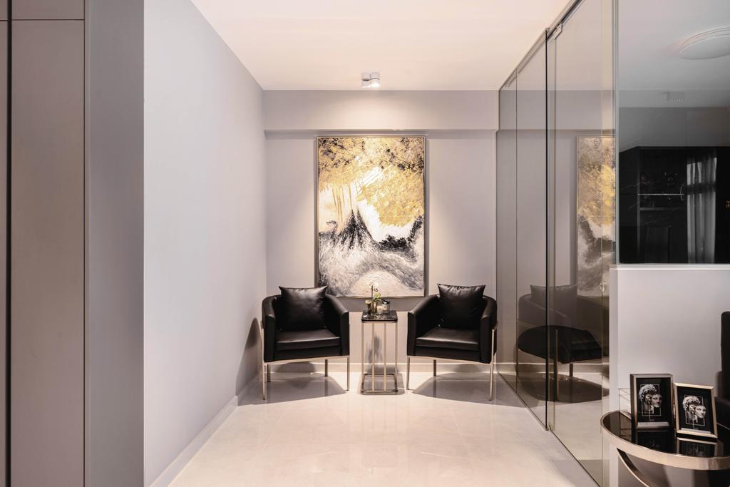 Modern, HDB, Living Room, Tampines GreenWeave, Interior Designer, Mr Shopper Studio, Minimalistic