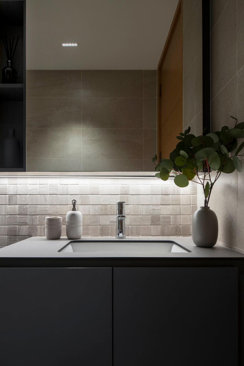 Contemporary, Condo, Bathroom, Sunville, Interior Designer, 19 Eighty Three, Scandinavian