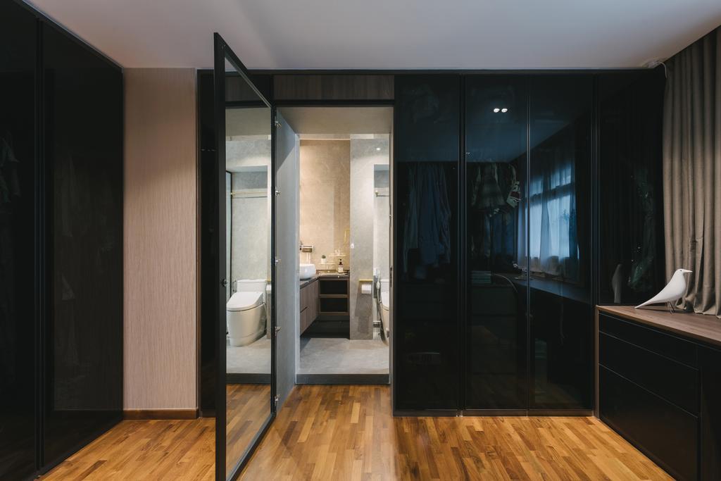 Contemporary, HDB, Bedroom, Pasir Ris Street 21, Interior Designer, Posh Home, Modern