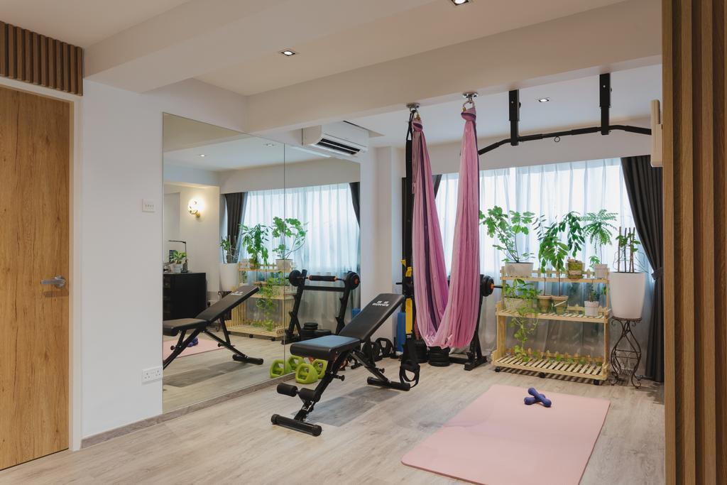 Contemporary, HDB, Living Room, Pasir Ris Street 21, Interior Designer, Posh Home, Modern
